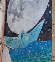 """INAUGURAZIONE OPERA DI STREET ART  """"SOGNANDO UN MONDO A COLORI"""""""
